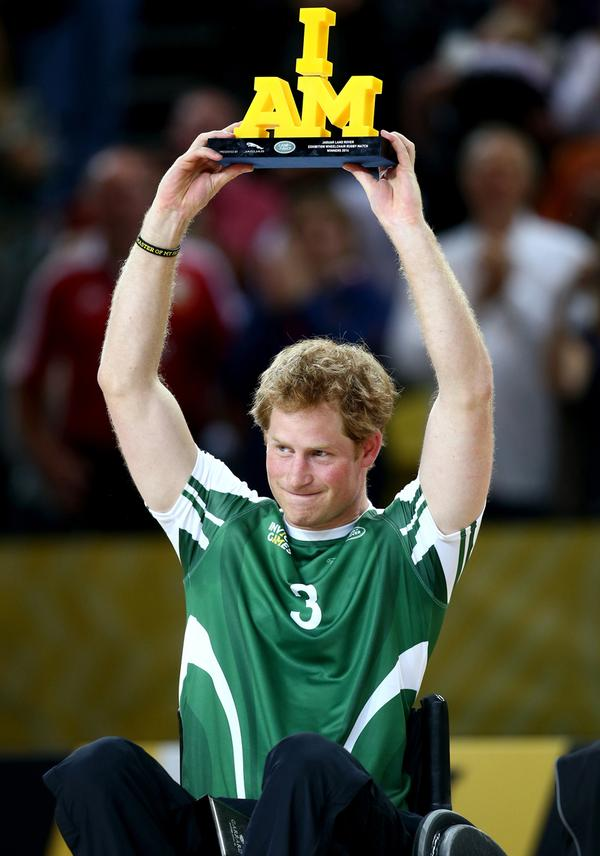 Prince Harry. Co-founder of the Games