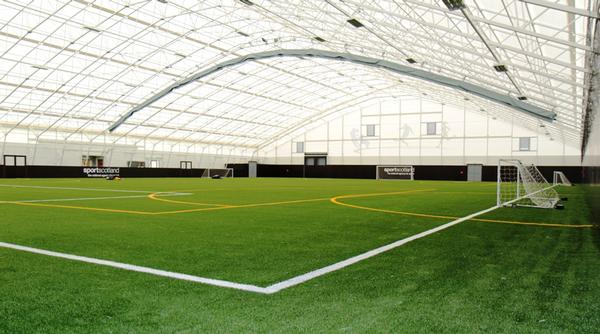 The indoor 3G pitch at Largs