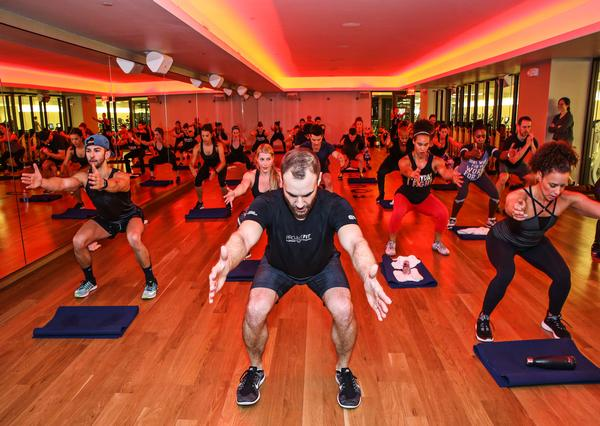 Headstrong is Equinox's mindfulness-based group exercise offering