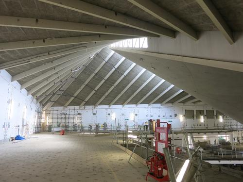 The Grade II-listed building is currently undergoing a refurb to become the new home for the Design Museum / John Pawson