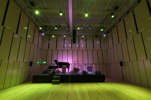 The new Music Room venue is designed to host concerts, smaller-scale performances, master-classes and workshops / Royal Liverpool Philharmonic