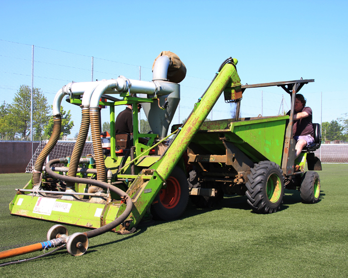Maintain rather than replace artificial surfaces, owners told