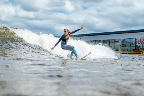 The Snowdonia attraction caters to surfers of all levels, with its own surf academy / Surf Snowdonia