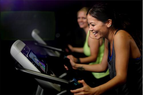 The new technology can transform exercise and cardio machines into gaming devices