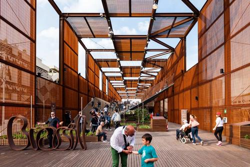 Brazilian Expo Pavilion 2015, Milan, Italy, by Studio Arthur Casas and Atelier Marko Brajovics