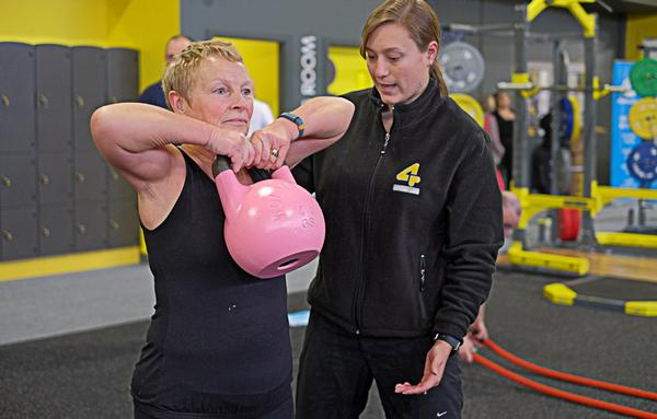 Free PT is a popular reward at Xercise4Less