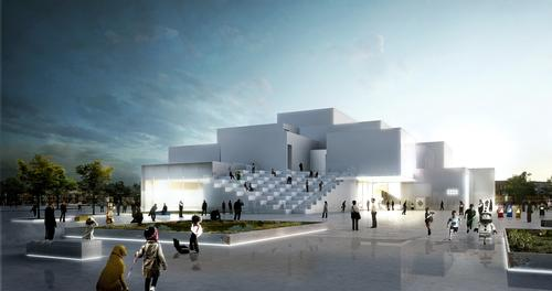 Bjarke Ingels Group (BIG) have designed the building as a three dimensional village of interlocking buildings and spaces / Lego Group/BIG
