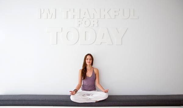 Studios such as Unplug offer 'drive-by meditation'