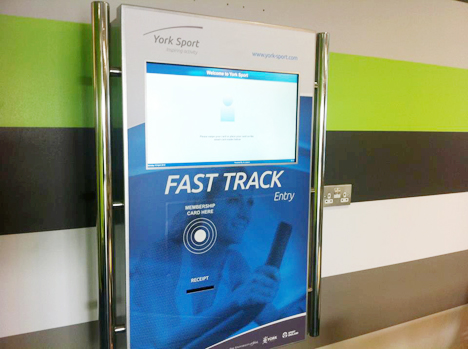 Fast Track kiosks went live in March, freeing up front-of-house staff and enabling better customer service