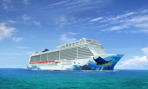 The Norwegian Escape will set sail in October 2015 / Norwegian Cruise Line