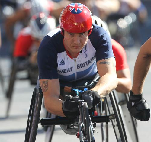 Paralympian David Weir to launch fitness facility at St Mary's University