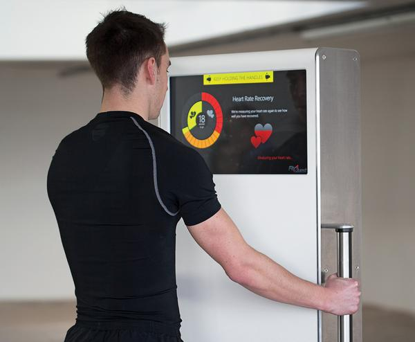 FitQuest assesses users' fitness and body composition levels