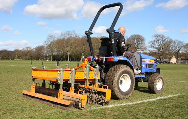 The SISIS Quadraplay and Multitiner drum type aerator in action