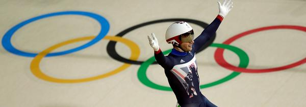 Jason Kenny holds a total of six Olympic gold medals, equalling the record by Chris Hoy