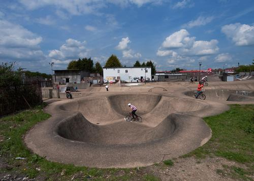 Europe's first listed skatepark ramps up heritage factor