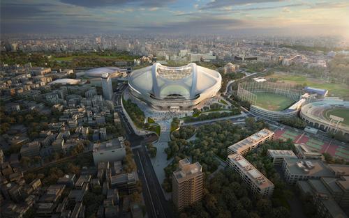 Japanese prime minister Shinzo Abe has dropped Zaha Hadid's plans for Tokyo's Olympic Stadium / Zaha Hadid Architects
