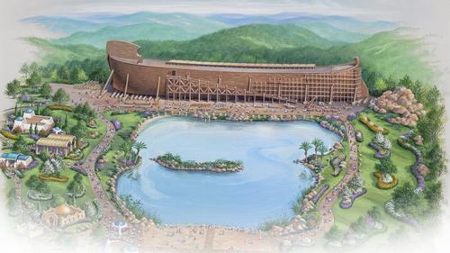 The theme park plans have come up against stern opposition / Answers in Genesis