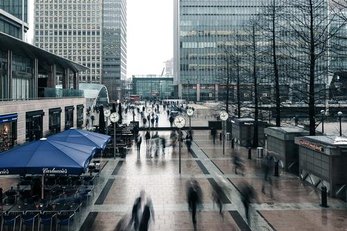 The Canary and Wood Wharf areas are to be serviced by a Crossrail station opening in 2018 / Shutterstock.com/plo3