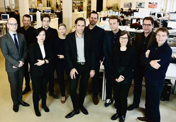 Frans de Witte, Fokke Moerel, Jeroen Zuidgeest, Wenchian Shi and Jan Knikker were recently made partners of MVRDV