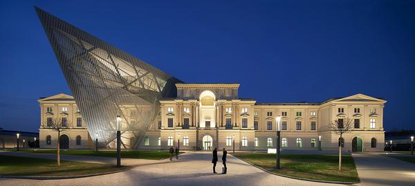 Among Libeskind's designs are the Military History Museum in Dresden, which was completed in 2011