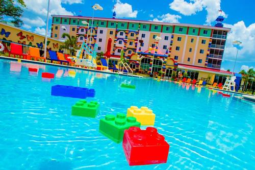 This is the fifth Legoland hotel to be developed, with existing hotels at Merlin's Lego parks in California, Windsor, Billund and Malaysia. / Merlin Entertainments