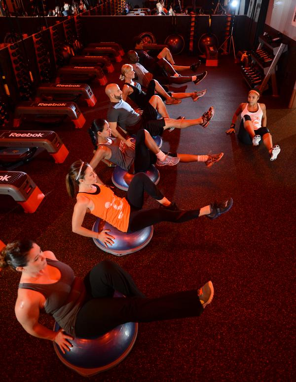 Orangetheory members are encouraged to train in the orange zone for 12–20 minutes of their hour workout