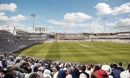 The number of spectators to English and Welsh cricket matches rose 11% to 2.33m / Populous