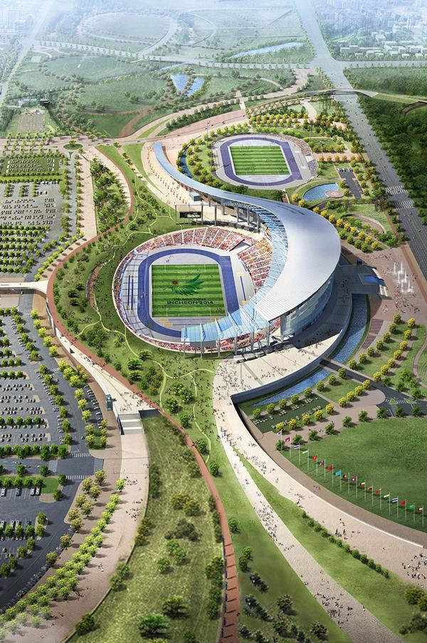 How the Incheon Stadium will look in its legacy mode / PIC: © Incheon Asian Games / Populous
