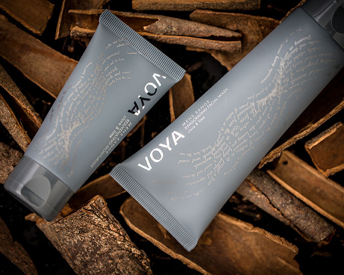 VOYA announces move into men's skincare with launch of VOYA MAN