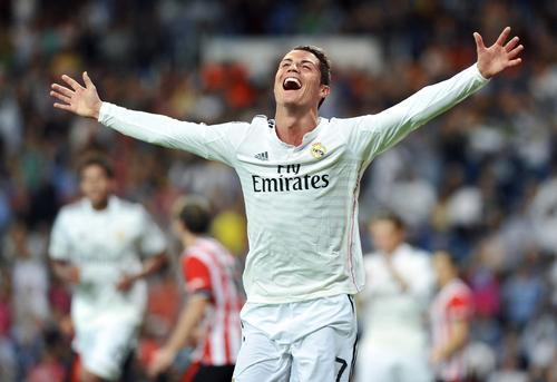 Cristiano Ronaldo, the brightest of Real Madrid's 'Galácticos' which help boost the club's revenues