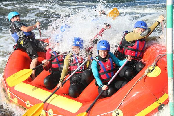 Legend online ticketing drives white water rafting sales for Serco