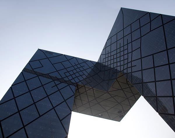 The China Central Television HQ in Beijing is one of Scheeren's best-known buildings