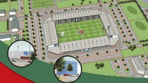 A number of preliminary discussions on the proposed 4,000-seat stadium are already underway