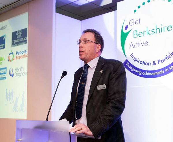 Brett Nicholls and Get Berkshire Active encourage sport and physical activity across the county