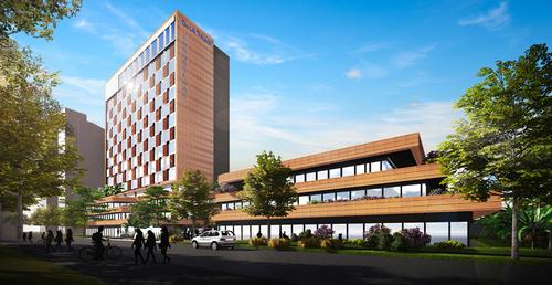 Scheduled to open in early 2019, the hotel is a short walk from Shanghai Circus World / Dusit Fudu Hotels and Resorts