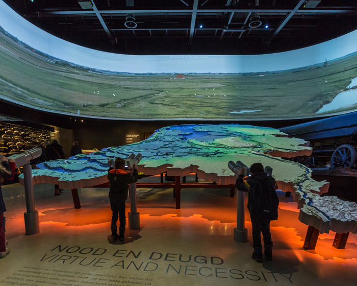 Complexity of integration helps tell Dutch museum's story
