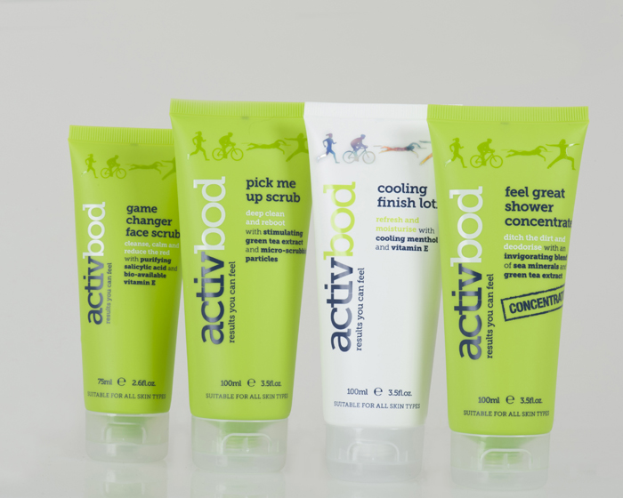 London Olympics inspires bodycare range for active people