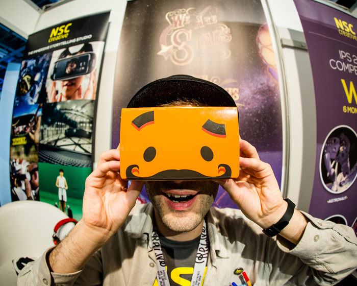 Starry eyed: NSC Creative launches a new VR experience