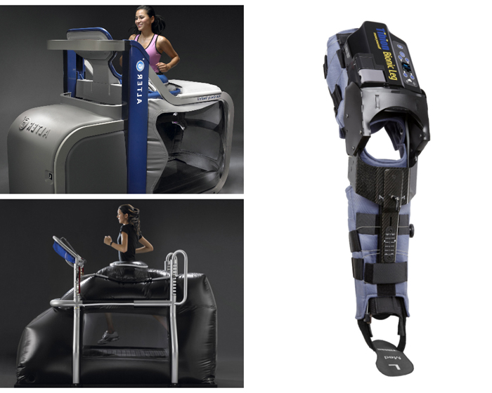 Bionic Leg is a unique rehabilitation aid from AlterG