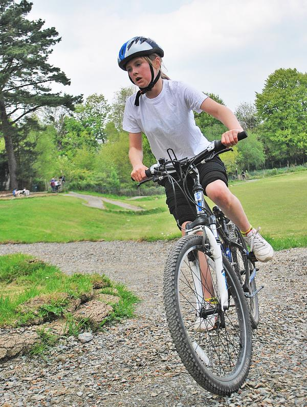 Mountain biking is growing in popularity