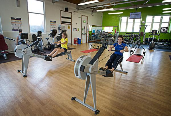 Taraflex Sport M Was Installed In The Centre S Main Fitness Suite