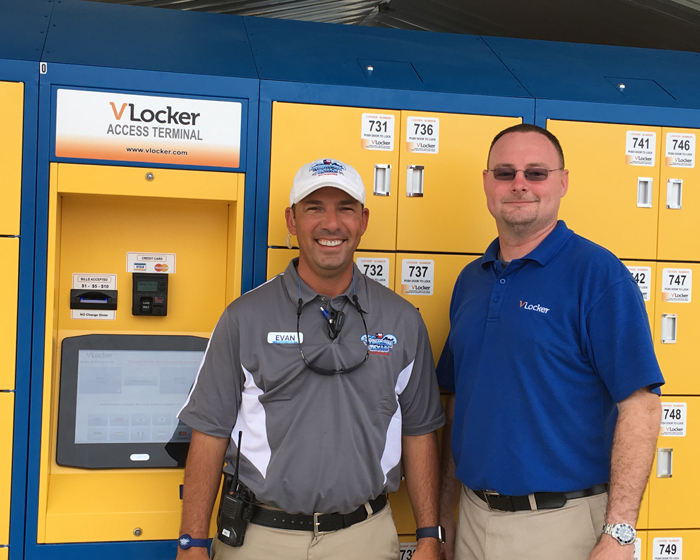 VLocker supplies secure storage system at Texas Typhoon