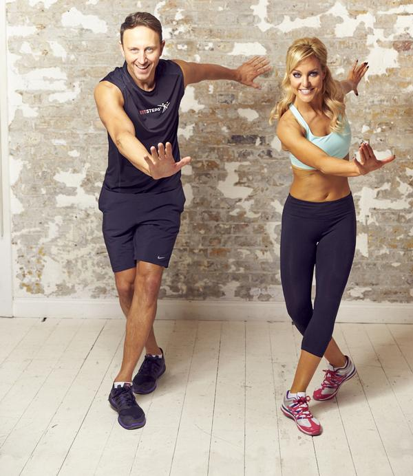 No partner is required for the 45-minute FitSteps class