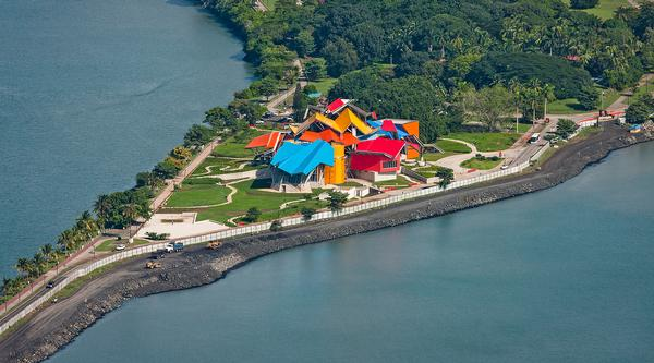 Biomuseo is located on the Amador Causeway at the entrance to the Panama Canal / PHOTOS: Fernando Alda