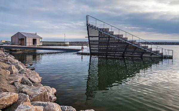 White Arkitekter completed the Hasle Harbour Baths in Denmark in 2014