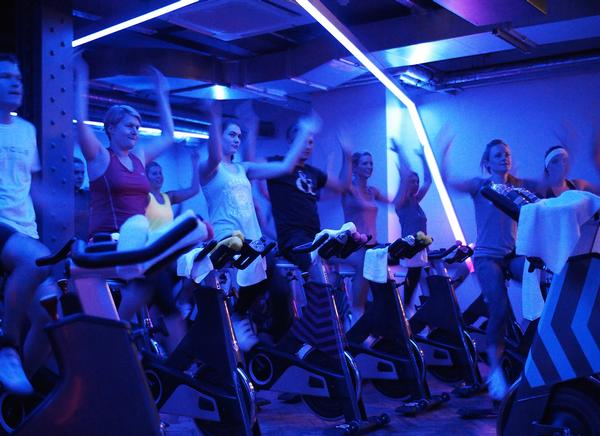 Although you work hard at Psycle, the vibe is more Ibiza than Tour de France