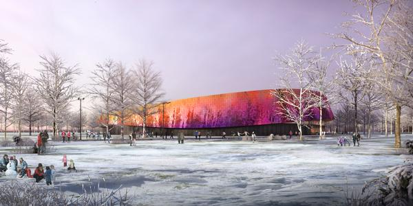 The £65m dry sport facility in Den Haag will include a 3,000-seat elite arena and a sports academy