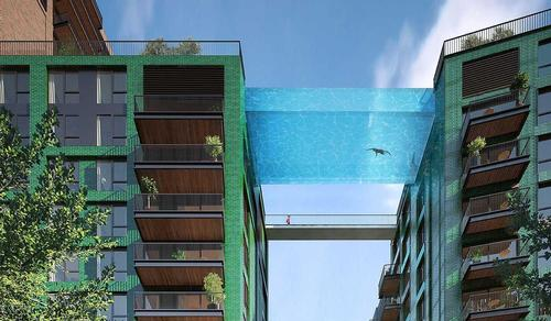 The pool will use aquarium technology / ARUP/Ballymore