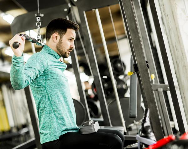 Researchers found resistance training significantly reduces anxiety / shutterstock