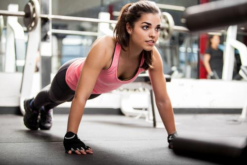 The survey shows 27 per cent of the adult population attend a gym, fitness centre or health club / Shutterstock